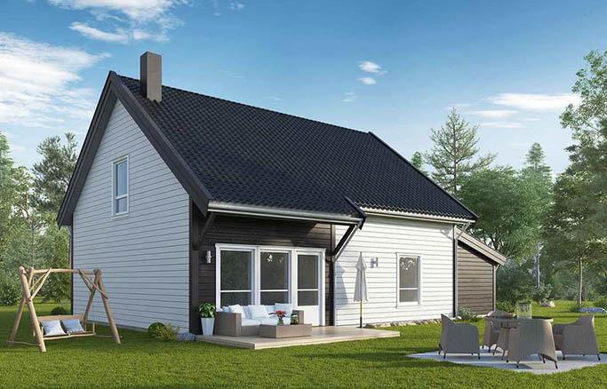 Компактные дома от 100 до 150 кв.м.